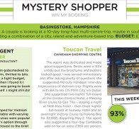 Travel Weekly Mystery Shopper