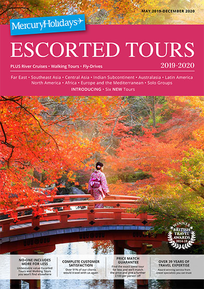 Online Brochure: Escorted Tours 2019-2020