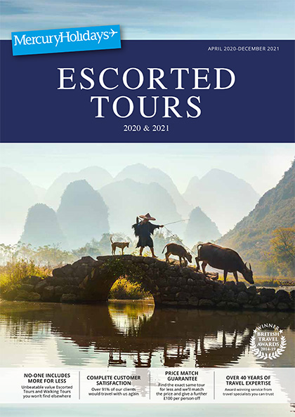Online Brochure: Escorted Tours 2020-2021