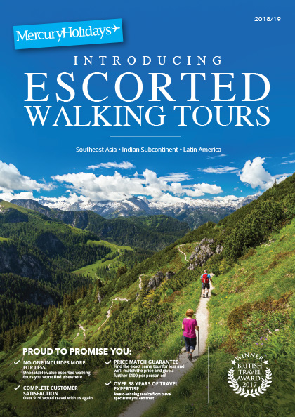 Online Brochure: Escorted Walking Tour 2018-2019
