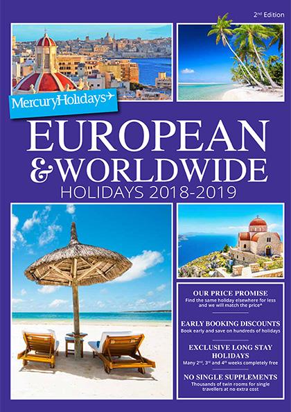 mercury holidays online brochure viewing