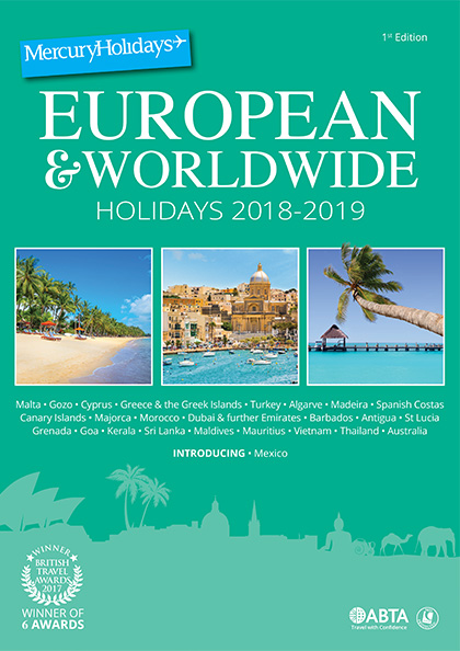 Online Brochure: Worldwide Holidays 2018-2019