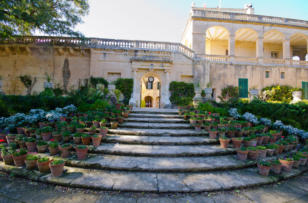 The palaces of Malta