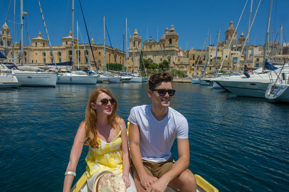 Fun on the water in Malta