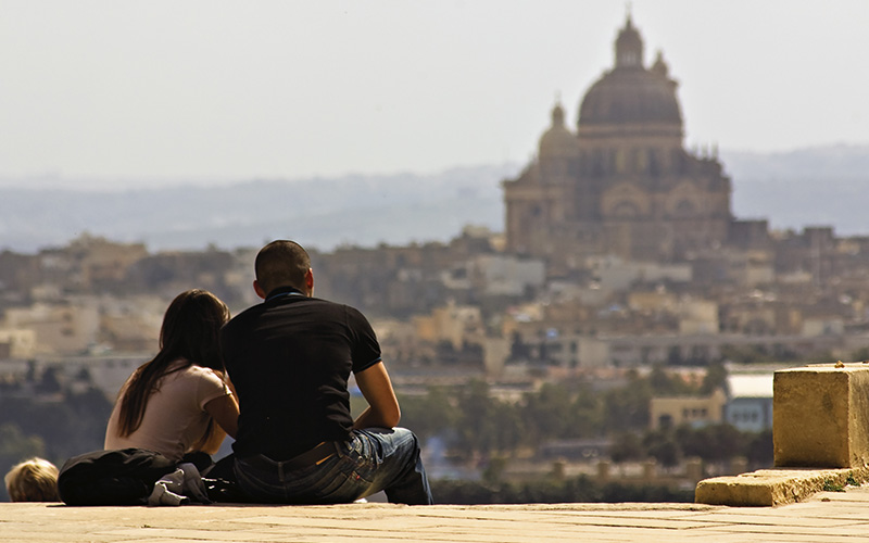 Honeymoon in Malta for some Hollywood glamour