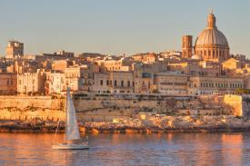Sailing around Malta