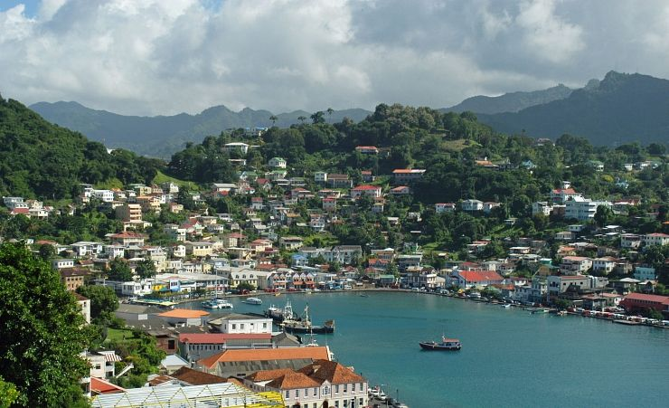 """St Georges in Grenada"""