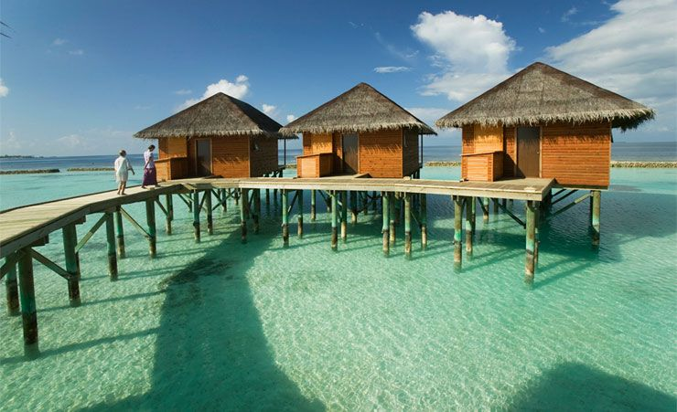 """Water Bungalows"""