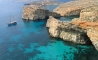 Gozo Cliffs Aerial View