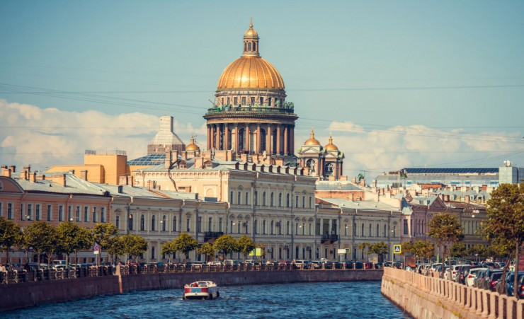 """St Isaacs Cathedral In Saint Petersburg"""
