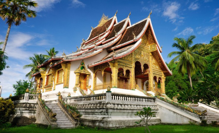 """Temple In Luang Prabang"""