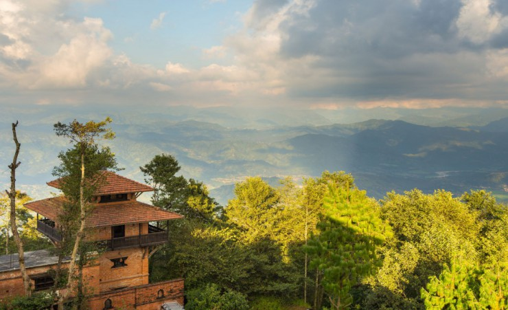 """Views Of The Mountains From Nagarkot"""