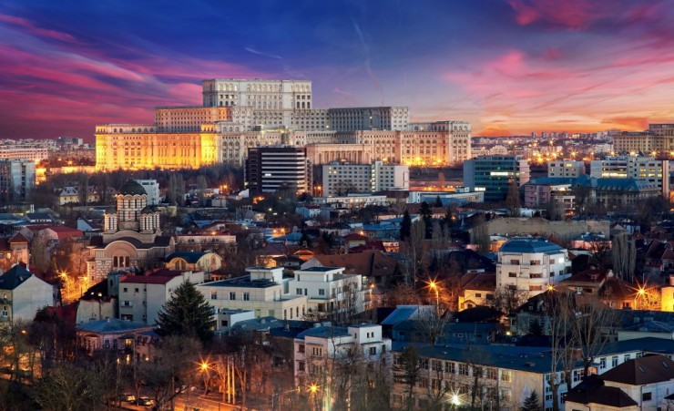 """Bucharest Skyline"""