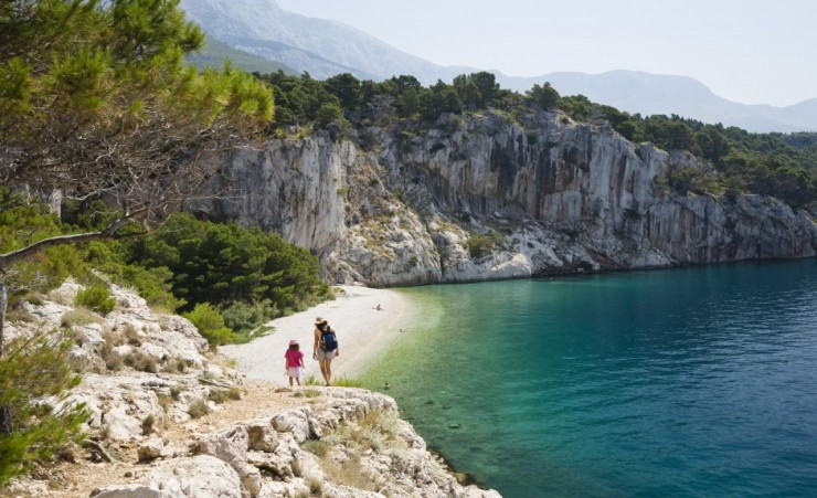 """Beach On The Makarska Riviera"""