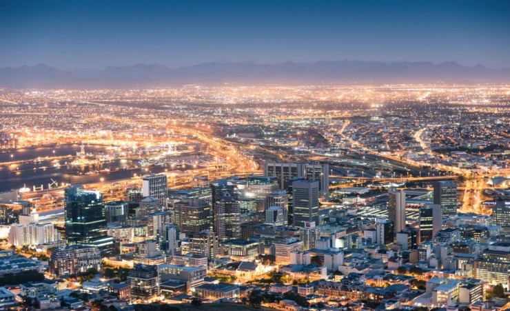 """Cape Town After Sunset"""