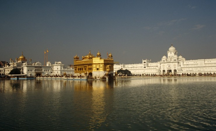 """The Harmandir Sahib"""