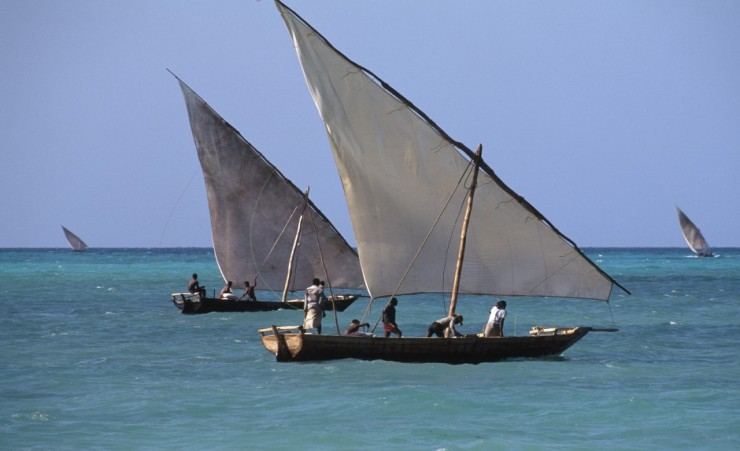 """Fishing Dhows"""