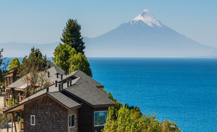 """View Of Lake Llanquihue"""