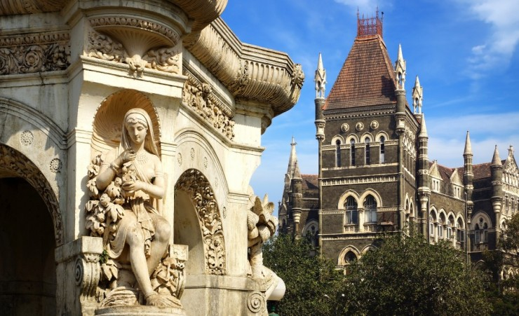 """Flora Fountain In Mumbai"""