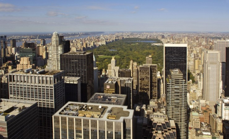 """View Of Central Park From The Empire State Building"""