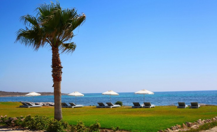 """Sunny Day In A Paphos Resort"""