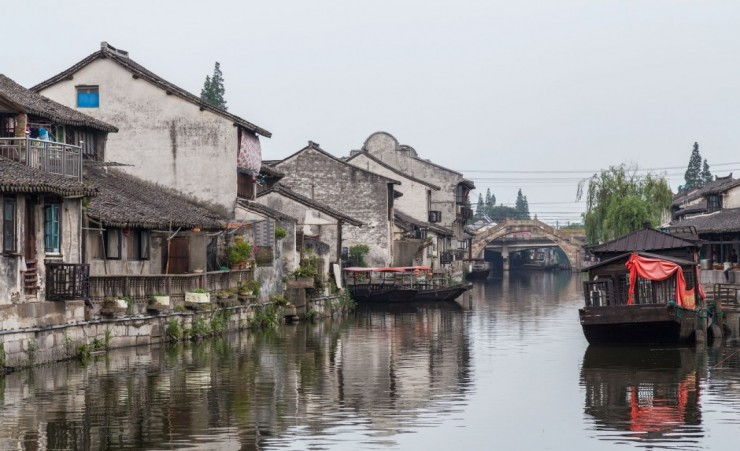 """Ancient Waterways Of Zhujiajiao"""