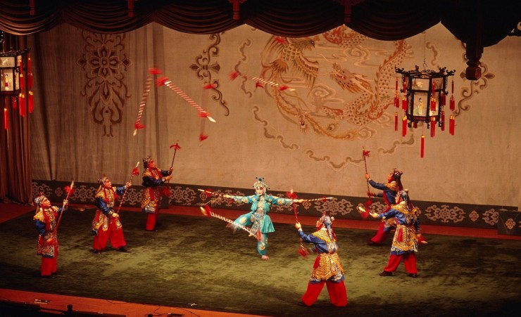 """Peking Opera Performance"""