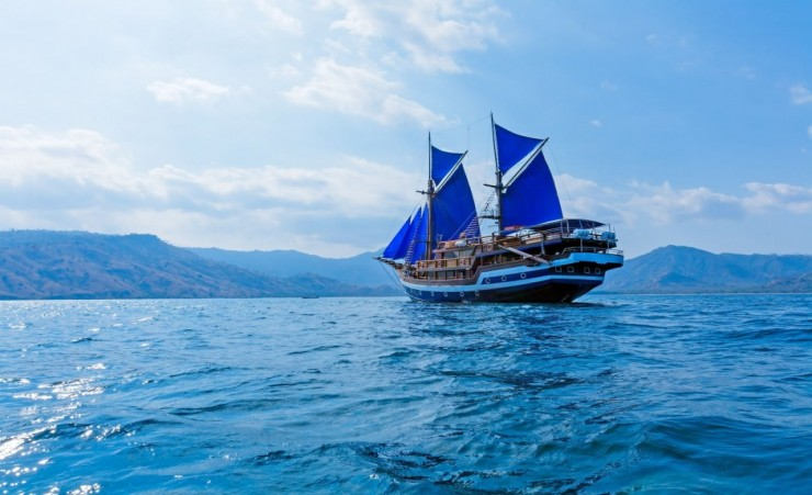 """Phinisi A Traditional Indonesian Sailing Ship"""
