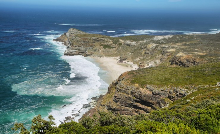 """Dias Beach Between Cape Point And Cape Of Good Hope"""
