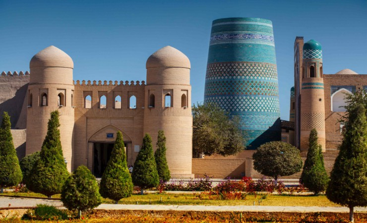 """Western Gate Of The Itchan Kala Khiva"""