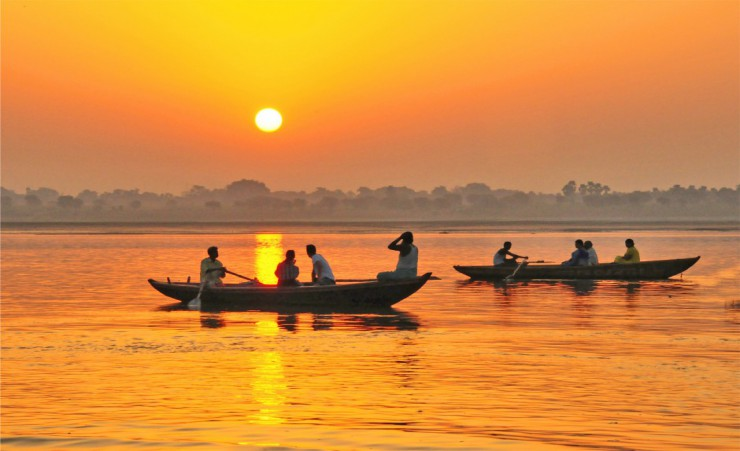 """Boats On The Ganges"""