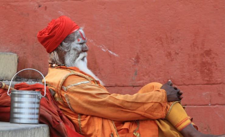 Holy Sadhu Varanasi