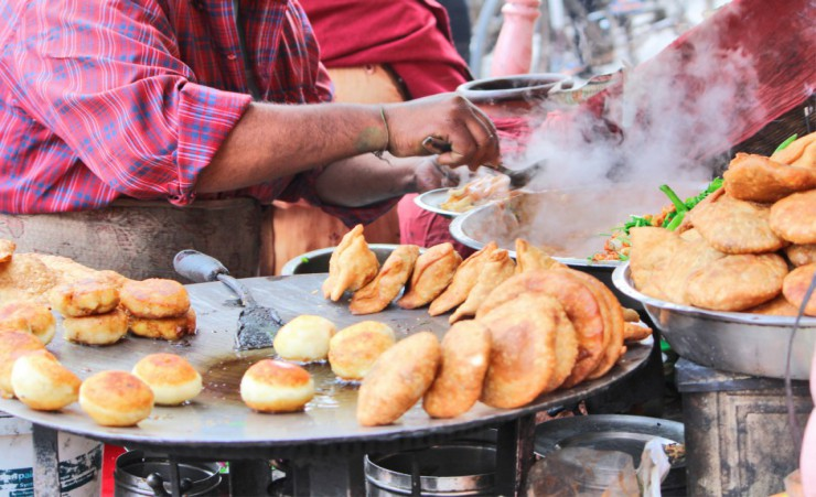 """Street Food In Jaipur"""