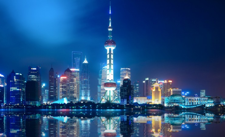 """Shanghai At Night"""