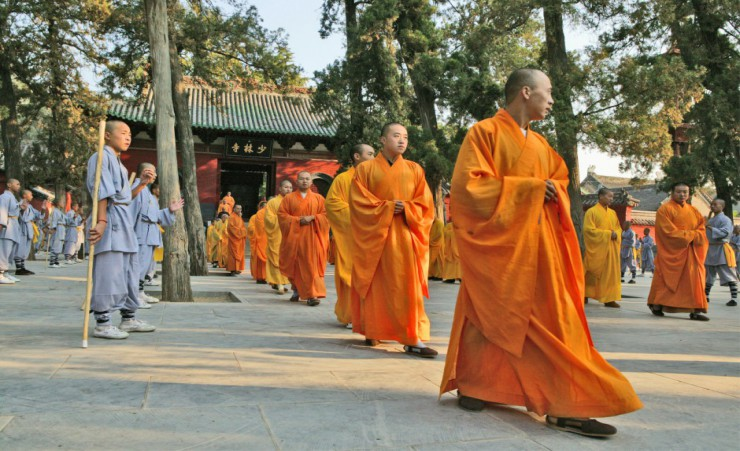 """Shaolin Monks At The Shaolin Temple"""