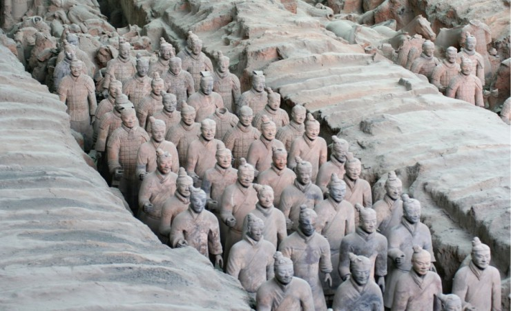 """The Terracotta Warriors"""