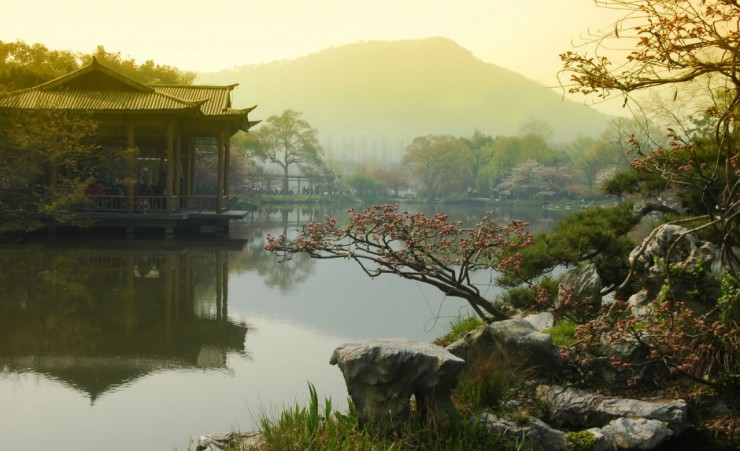 """West Lake In Hangzhou"""