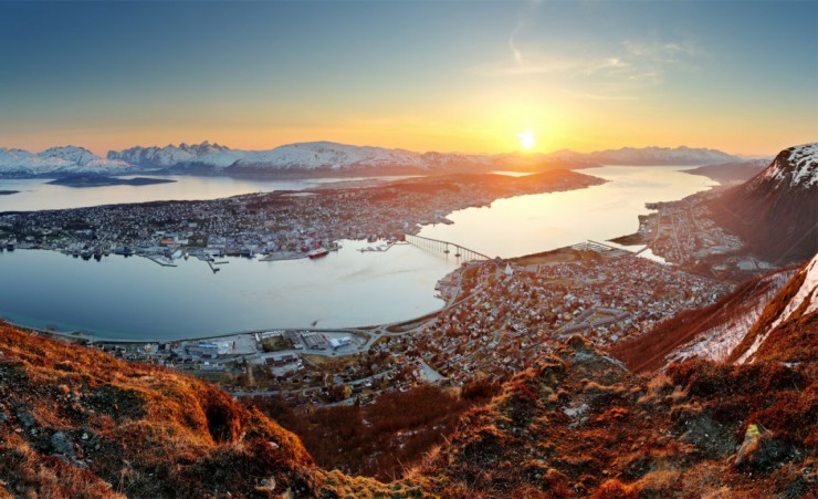 """View Over Tromso"""