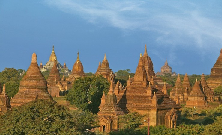 """Pagodas of Bagan"""