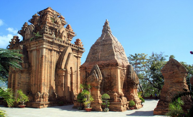 """Old Cham Towers In Nha Trang"""