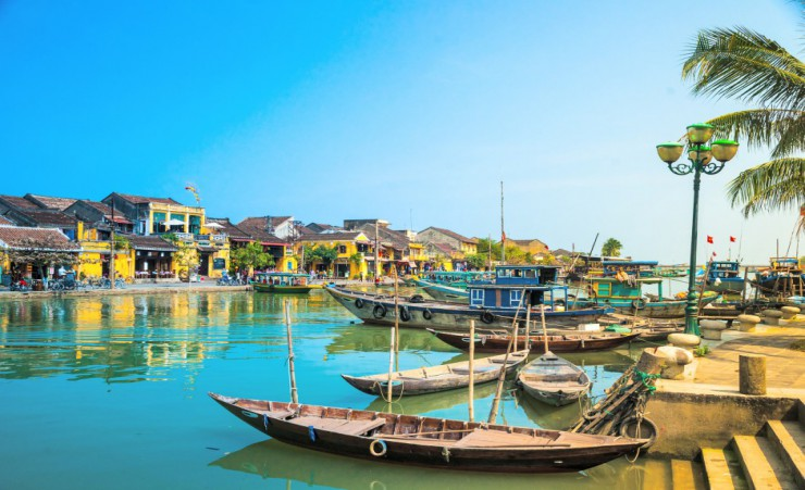 """Traditional Boats Hoi An"""