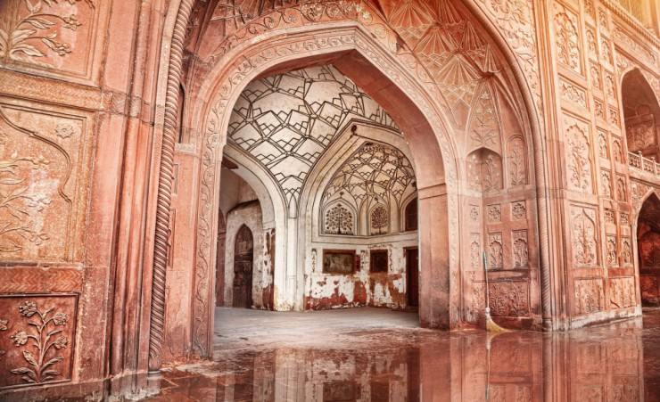 """Red Fort Interior"""
