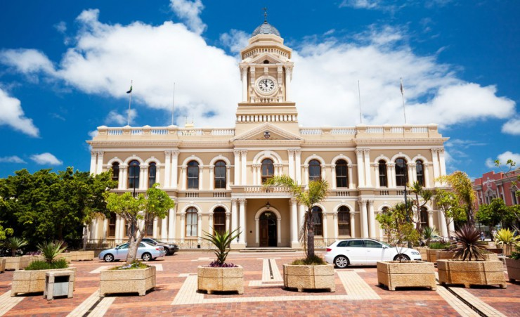 """City Hall Of Port Elizabeth"""