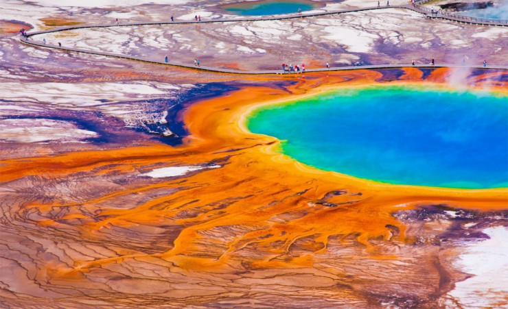 """Prismatic Spring Yellowstone National Park"""