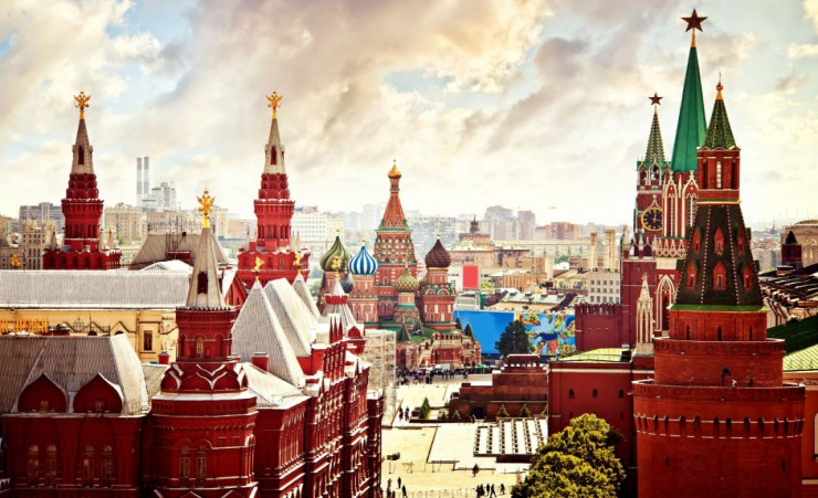"""Aerial View Of The Kremlin"""