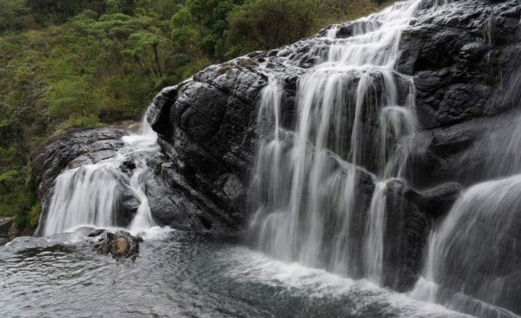 """Horton Plains Waterfalls"""