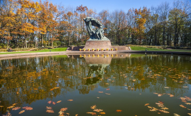 """Chopin Monument   Warsaw"""