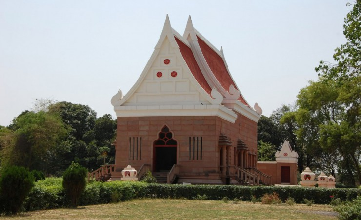 """Buddhist Temple   Sarnath"""