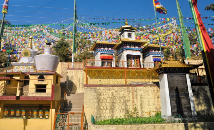 """Buddhist Prayer Flags In Dharamshala"""