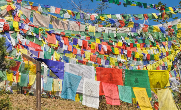 """Prayer Flags In Dharamshala"""
